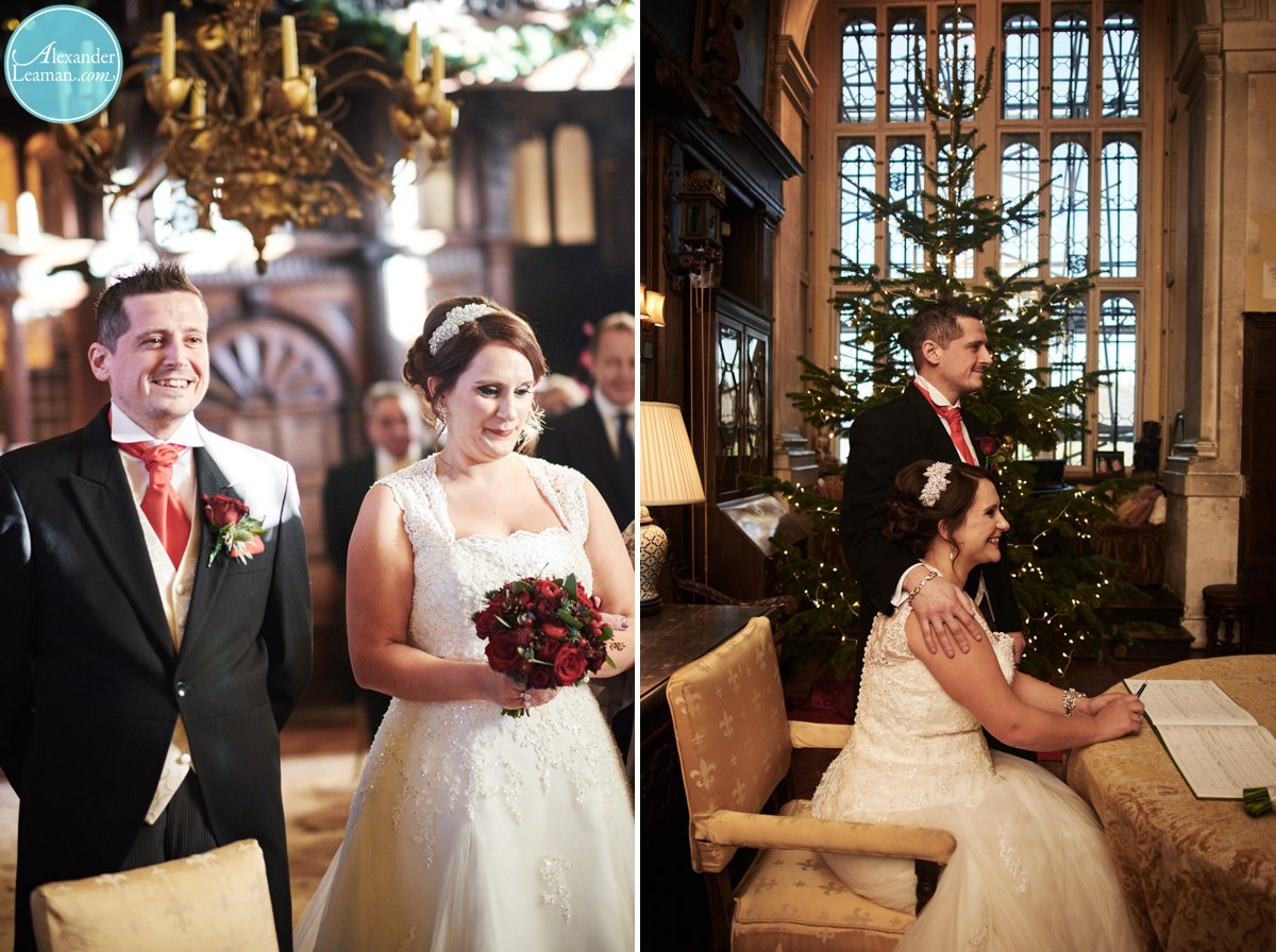 xmas wedding photography in Surrey