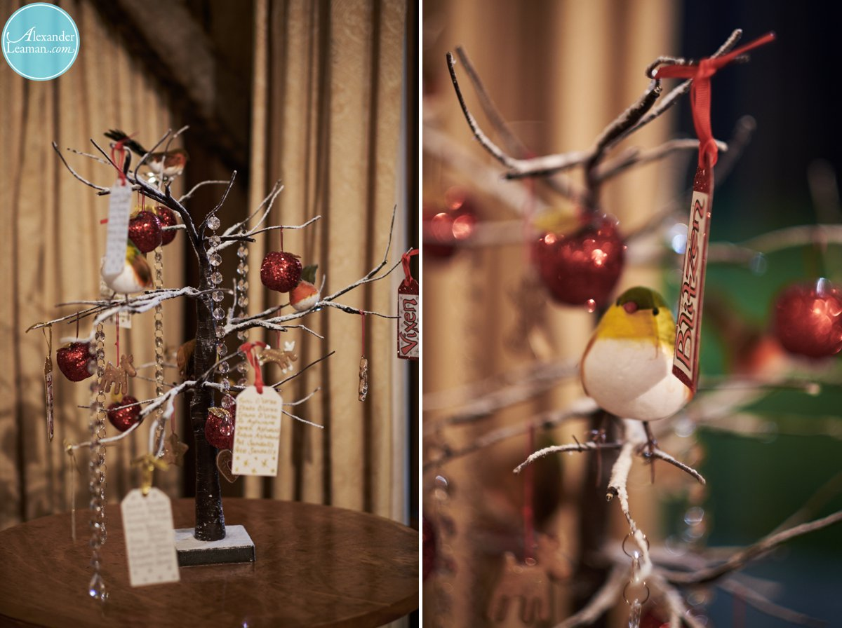 Christmas Details at Loseley Park in december